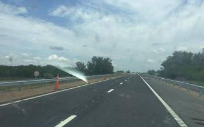 Tras el derrumbe en 2015, habilitaron el puente del Río Areco en Ruta 9