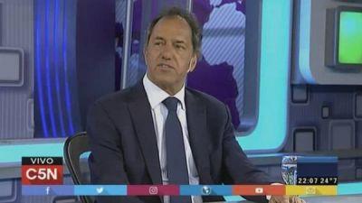 Un fiscal pide a Daniel Scioli facturas de su viaje a Punta Cana
