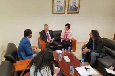 Legisladores argentinos visitaron Palestina y reclamaron solidaridad internacional