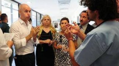 Rodríguez Larreta inauguró la segunda etapa del Hospital Grierson del Bajo Flores