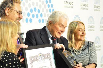 Honraron al Dr Luis Palau en el Congreso de la Nación Argentina