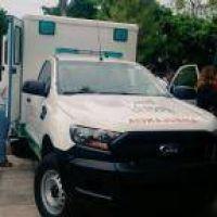 Ambulancias 4x4 y críticas a Nación por los fondos