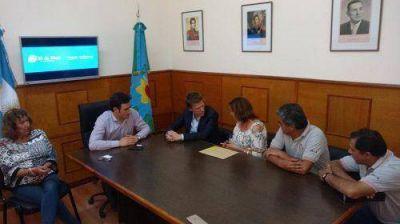 Ralinqueo se reunió con Fossati y juntos coordinaron acciones de gestión tributaria