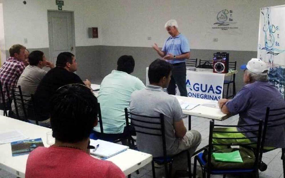 SITSA impulsa cursos de capacitación a operarios de toda la provincia