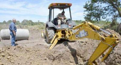 Activan obras de sistemas pluviales en el Laguna Soto