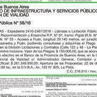 Repavimentarán la ruta 67 entre Puán y Pigüé