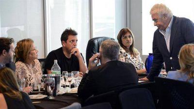 La CGT prometió apoyar el proyecto de Massa
