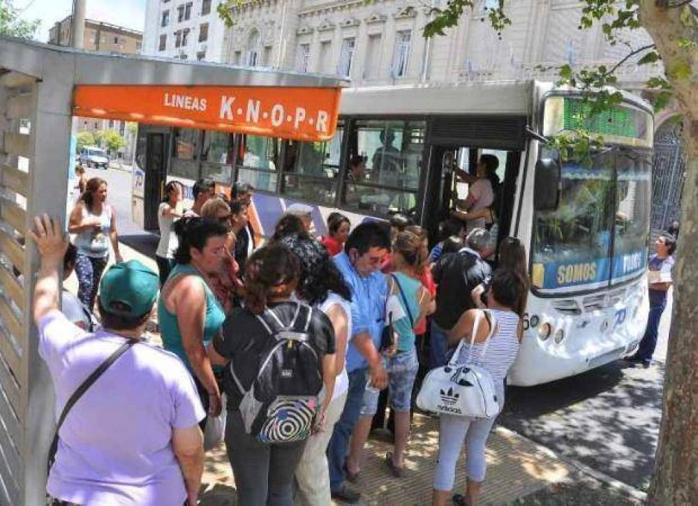 A partir del sábado, el boleto de Transpuntano saldrá 7 pesos