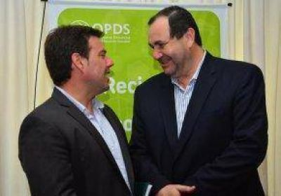 El Intendente firma un convenio por más de 12 millones de pesos para la Planta de Residuos