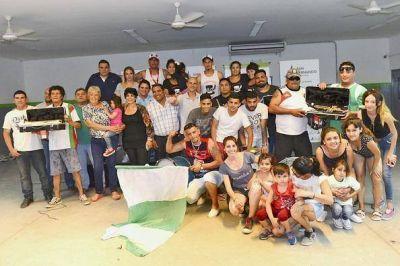 """San Fernando reconoció a murgas por su trabajo en """"Sanfer Recicla"""""""