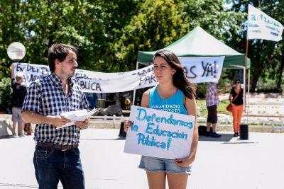 Desde la Universidad Pública se manifestaron en contra de los recortes presupuestarios