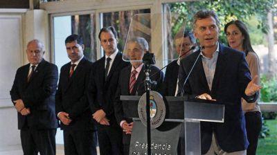Macri presentó el Compromiso Social contra las Adicciones, tras un pedido de la Iglesia