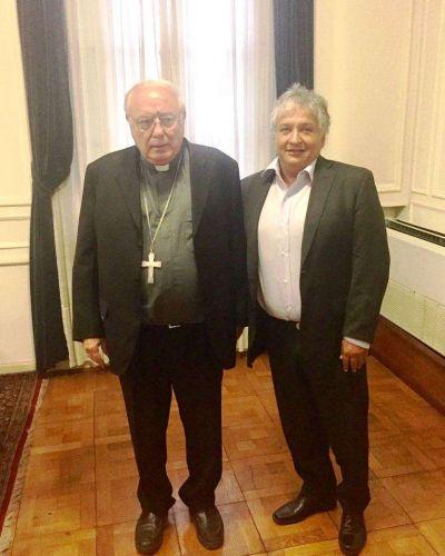 Bosetti se reunió con Monseñor Arancedo: