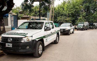 Llegaron 90 gendarmes a Presidente Perón