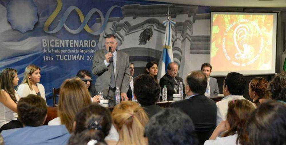 Osvaldo Jaldo celebró en la Legislatura el Día Universal del Niño