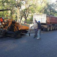 Trabajos de repavimentación en varios sectores de la ciudad para este jueves