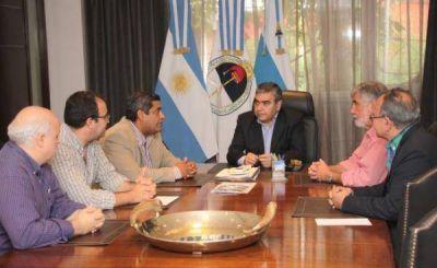 Alfaro y el Colegio de Arquitectos evaluaron iniciativas en materia de planificación urbanística