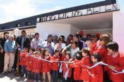 Corpacci inauguró un nuevo JIN en Belén