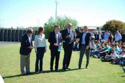 Tras la visita de Macri y Vidal, Dinápoli anunció obras para General Belgrano