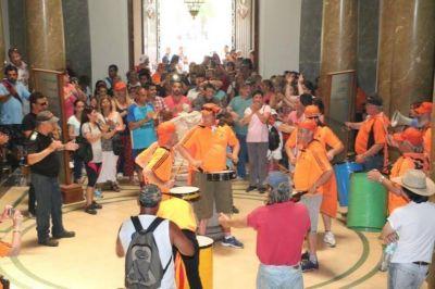 Municipales redoblan la protesta: 72 horas de paro la semana próxima