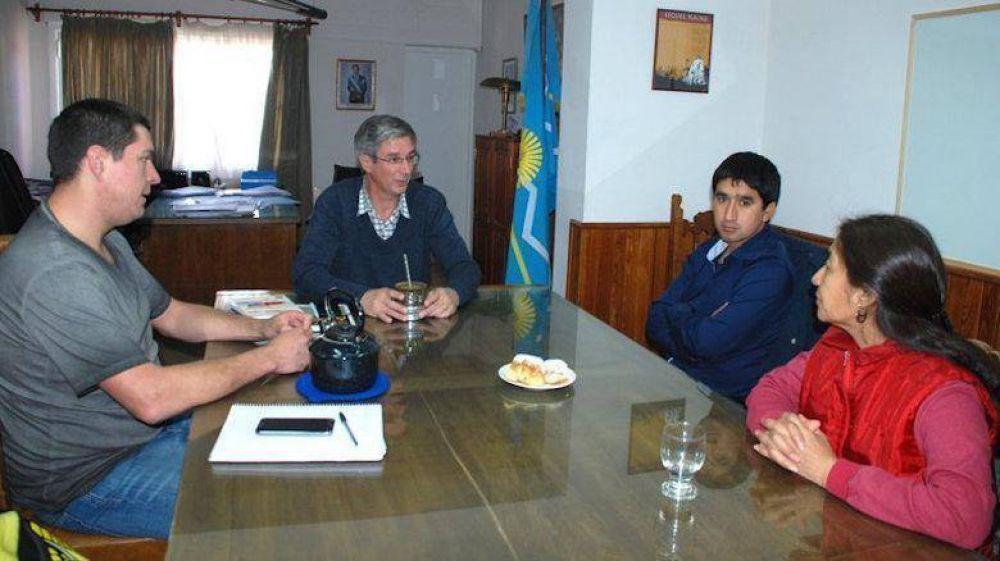 Ongarato recibió a la coordinadora del Programa de Pueblos Originarios del Ministerio de Cultura de Nación