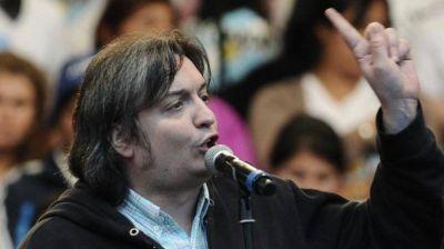 Máximo K criticó el blanqueo: