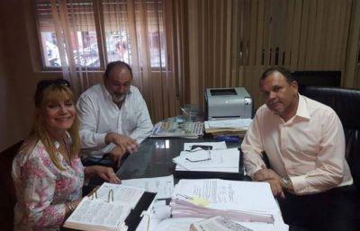 Acueducto: Obeid se reunió con el Fiscal de Estado