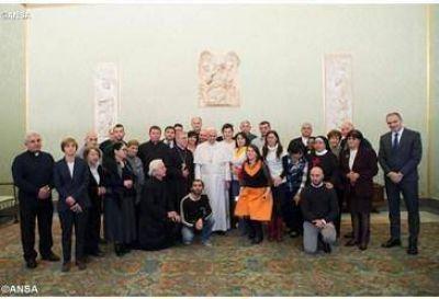 El Papa recibe a delegación de Georgia y recuerda su visita apostólica