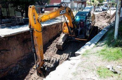 El Municipio avanza con tareas para la obra de la Cuenca Boquerón