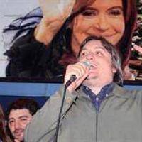 Máximo dijo que Cristina retiene una intención de voto elevada