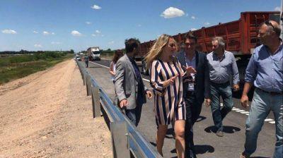 Está habilitado el nuevo puente sobre el Río Areco en la Ruta N° 9