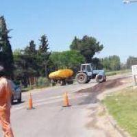Repavimentación de rutas: Trabajan sobre camino Crucero General Belgrano