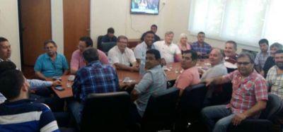 Autoridades de la CGT Regional se reunieron con Schmid y Moyano