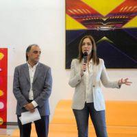Vidal presentó el programa cultural AcercArte