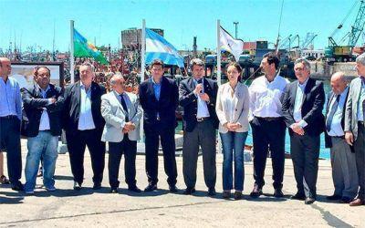 Vidal anunció la inyección de 450 millones de pesos para la pesca marplatense