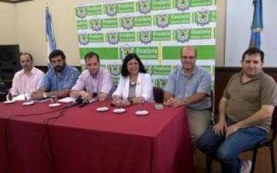 Rivadavia: Aumento del 35% para los municipales en 2017