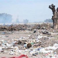 Operario municipal en el basurero de Trenque Lauquen afectado por la emanación de gases tóxicos