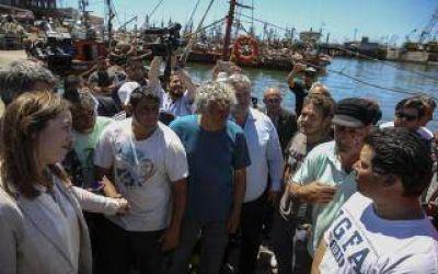 Vidal anunció mejoras para el sector pesquero