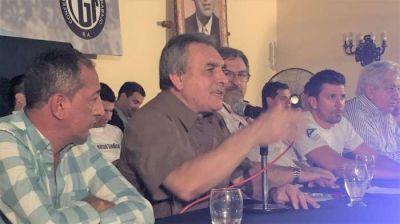 Schmid respaldó a la Juventud Sindical conducida por Juan Pablo Brey