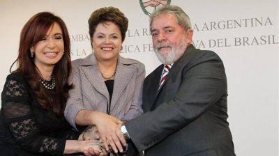 Cristina Elisabet Kirchner se encontrará con Lula y Dilma Rousseff en Brasil