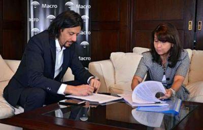 Tras un acuerdo firmado con la Provincia, banco Macro llegará a la zona oeste