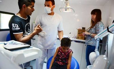 San Fernando realizó controles de salud a chicos de la 'Liga municipal de Fútbol Infantil'