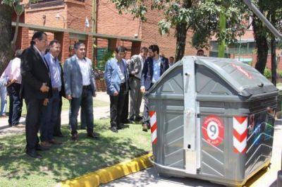 La Municipalidad capitalina instalará 546 contenedores en distintos puntos de la ciudad