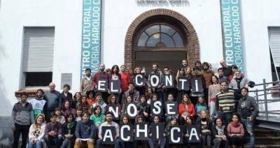 Festival en defensa del Centro Cultural Conti en la ex ESMA