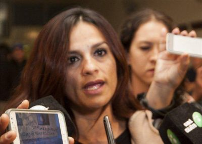Abrieron una causa penal contra la esposa del líder de la toma de la UTA