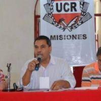 """Rubén """"Pili"""" Bravo fue electo presidente de la UCR misionera"""