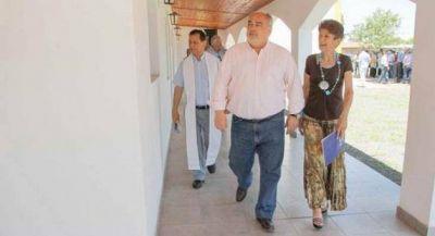 Colombi inauguró obras financiadas por Nación