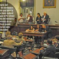 Inicio de campaña por el camino de la judicialización de la política