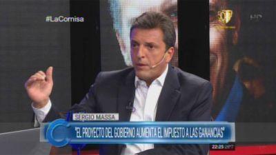 """Massa: """"El martes va a haber ley de Ganancias"""""""