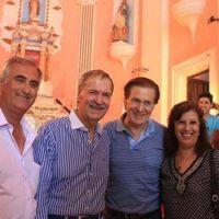 Schiaretti inauguró la restauración de la Iglesia de San Francisco del Chañar